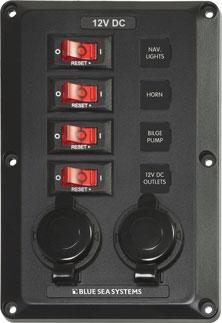 12 Volt Shop Circuit Breaker Panels